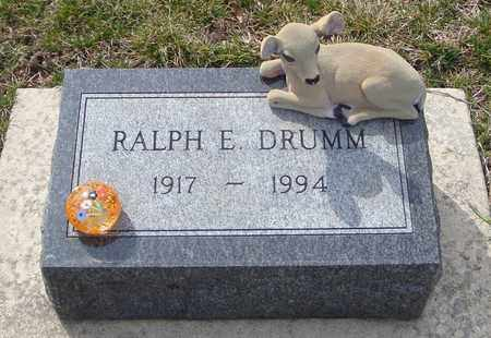 DRUMM, RALPH E. - Will County, Illinois   RALPH E. DRUMM - Illinois Gravestone Photos
