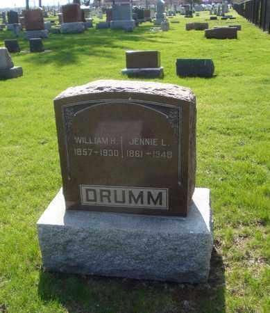 DRUMM, WILLIAM H. - Will County, Illinois | WILLIAM H. DRUMM - Illinois Gravestone Photos