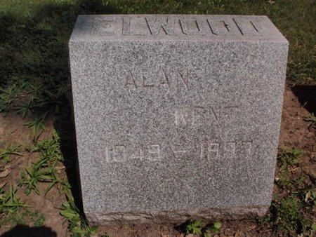 ELWOOD, ALAN KENT - Will County, Illinois | ALAN KENT ELWOOD - Illinois Gravestone Photos