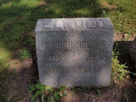 ELWOOD, GAVION NELSON - Will County, Illinois | GAVION NELSON ELWOOD - Illinois Gravestone Photos
