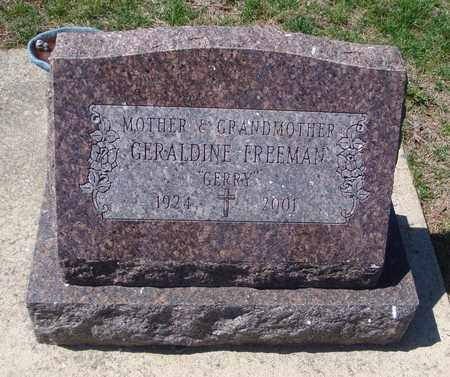 FREEMAN, GERALDINE - Will County, Illinois | GERALDINE FREEMAN - Illinois Gravestone Photos