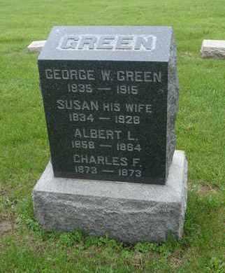GREEN, SUSAN - Will County, Illinois | SUSAN GREEN - Illinois Gravestone Photos