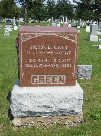 GREEN, JOSEPHINE E. - Will County, Illinois | JOSEPHINE E. GREEN - Illinois Gravestone Photos