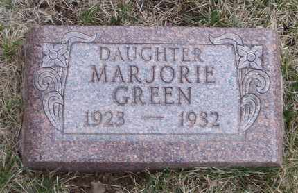 GREEN, MARJORIE - Will County, Illinois | MARJORIE GREEN - Illinois Gravestone Photos