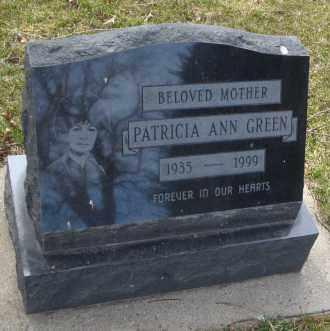 GREEN, PATRICIA ANN - Will County, Illinois   PATRICIA ANN GREEN - Illinois Gravestone Photos