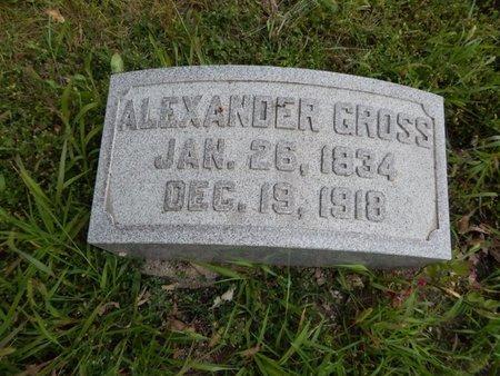 GROSS, ALEXANDER - Will County, Illinois   ALEXANDER GROSS - Illinois Gravestone Photos