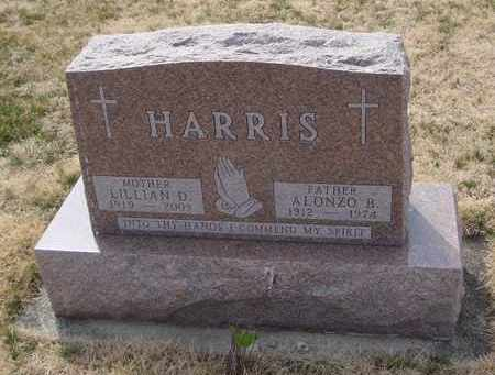 HARRIS, ALONZO B. - Will County, Illinois | ALONZO B. HARRIS - Illinois Gravestone Photos