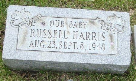 HARRIS, RUSSELL - Will County, Illinois | RUSSELL HARRIS - Illinois Gravestone Photos