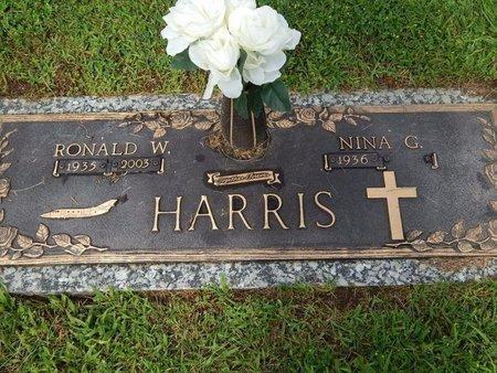 HARRIS, RONALD W - Will County, Illinois | RONALD W HARRIS - Illinois Gravestone Photos