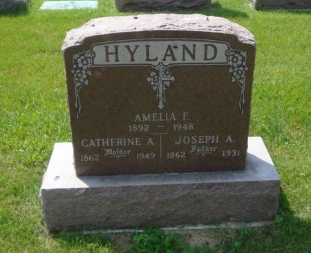 HYLAND, CATHERINE A. - Will County, Illinois | CATHERINE A. HYLAND - Illinois Gravestone Photos