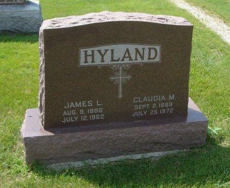 HYLAND, JAMES L. - Will County, Illinois | JAMES L. HYLAND - Illinois Gravestone Photos