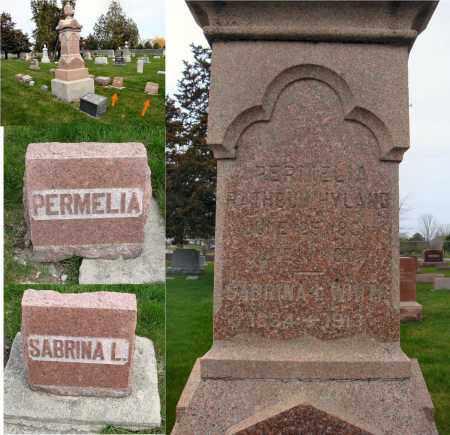 HYLAND, PERMELIA - Will County, Illinois | PERMELIA HYLAND - Illinois Gravestone Photos