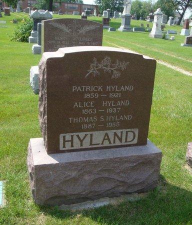 HYLAND, THOMAS S. - Will County, Illinois | THOMAS S. HYLAND - Illinois Gravestone Photos