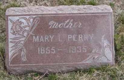 PERRY, MARY L. - Will County, Illinois | MARY L. PERRY - Illinois Gravestone Photos