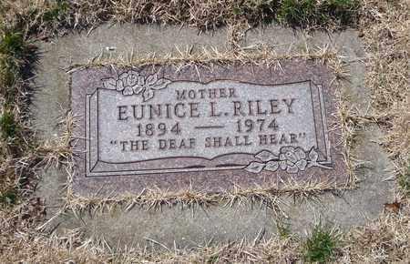RILEY, EUNICE L. - Will County, Illinois   EUNICE L. RILEY - Illinois Gravestone Photos