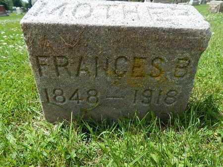 RILEY, FRANCES B - Will County, Illinois   FRANCES B RILEY - Illinois Gravestone Photos