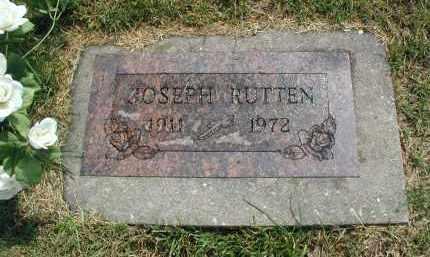 RUTTEN, JOSEPH - Will County, Illinois | JOSEPH RUTTEN - Illinois Gravestone Photos