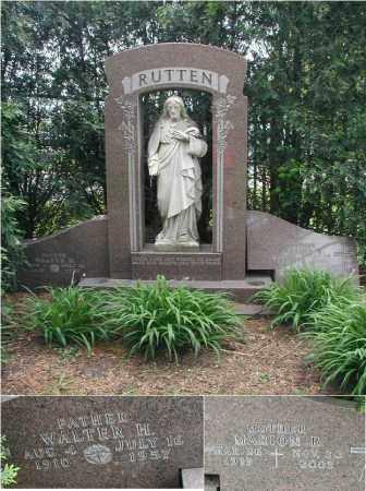 RUTTEN, MARION R. - Will County, Illinois | MARION R. RUTTEN - Illinois Gravestone Photos