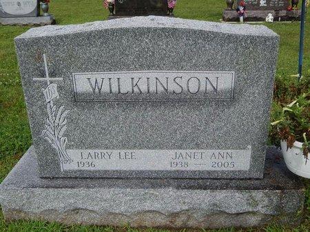 WILKINSON, JANET ANN - Will County, Illinois | JANET ANN WILKINSON - Illinois Gravestone Photos
