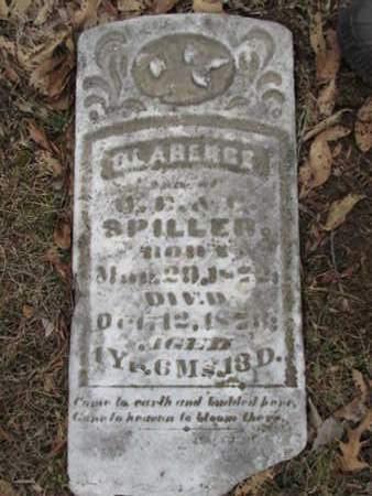 SPILLER, CLARENCE - Williamson County, Illinois | CLARENCE SPILLER - Illinois Gravestone Photos