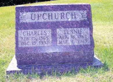 NICHOLSON UPCHURCH, TENNESSEE ELIZABETH - Williamson County, Illinois | TENNESSEE ELIZABETH NICHOLSON UPCHURCH - Illinois Gravestone Photos