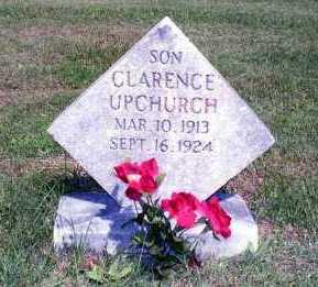 UPCHURCH, CLARENCE - Williamson County, Illinois | CLARENCE UPCHURCH - Illinois Gravestone Photos