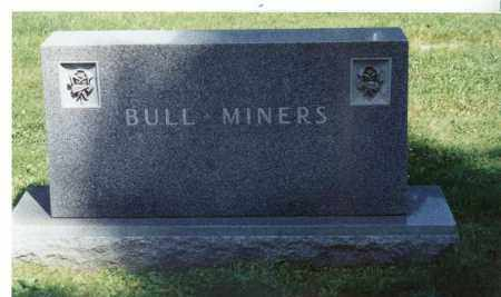 BULL-MINER, FAMILY STONE - Winnebago County, Illinois   FAMILY STONE BULL-MINER - Illinois Gravestone Photos
