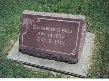 BULL, ELIZABETH C - Winnebago County, Illinois | ELIZABETH C BULL - Illinois Gravestone Photos
