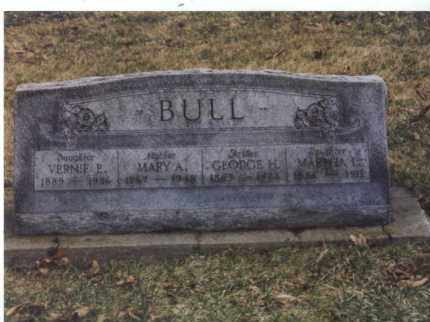 BULL, GEORGE H - Winnebago County, Illinois | GEORGE H BULL - Illinois Gravestone Photos
