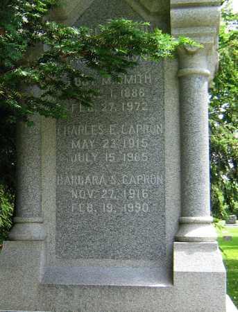 CAPRON, CHARLES E - Winnebago County, Illinois | CHARLES E CAPRON - Illinois Gravestone Photos
