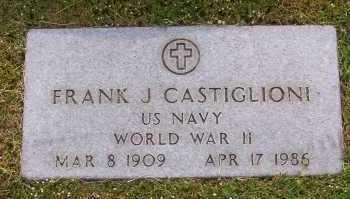 CASTIGLIONI, FRANK - Winnebago County, Illinois | FRANK CASTIGLIONI - Illinois Gravestone Photos
