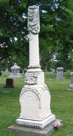 DAUGHERTY, FAMILY OBELISK - Winnebago County, Illinois | FAMILY OBELISK DAUGHERTY - Illinois Gravestone Photos