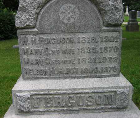 FERGUSON, WILLIAM H - Winnebago County, Illinois   WILLIAM H FERGUSON - Illinois Gravestone Photos