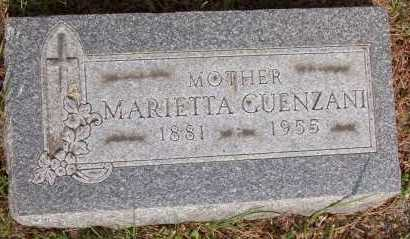GUENZANI, MARIETTA - Winnebago County, Illinois | MARIETTA GUENZANI - Illinois Gravestone Photos