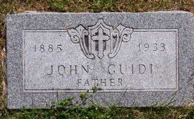 GUIDI, JOHN - Winnebago County, Illinois | JOHN GUIDI - Illinois Gravestone Photos