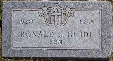 GUIDI, RONALD - Winnebago County, Illinois   RONALD GUIDI - Illinois Gravestone Photos