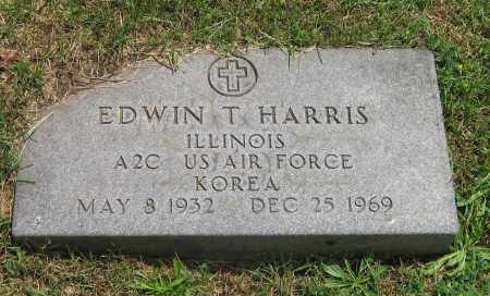 HARRIS, EDWIN T - Winnebago County, Illinois | EDWIN T HARRIS - Illinois Gravestone Photos