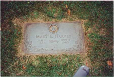 HARVEY, MARY ELIZABETH - Winnebago County, Illinois   MARY ELIZABETH HARVEY - Illinois Gravestone Photos