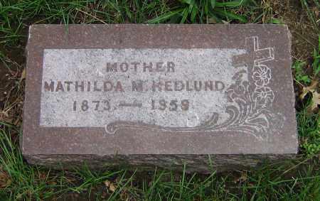 HEDLUND, MATHILDA M - Winnebago County, Illinois | MATHILDA M HEDLUND - Illinois Gravestone Photos