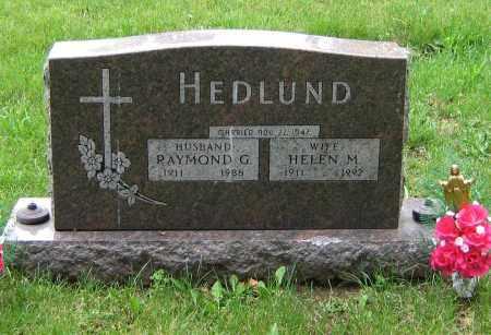 HEDLUND, HELEN M - Winnebago County, Illinois | HELEN M HEDLUND - Illinois Gravestone Photos