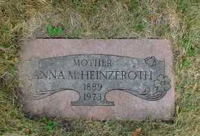 HEINZEROTH, ANNA - Winnebago County, Illinois | ANNA HEINZEROTH - Illinois Gravestone Photos