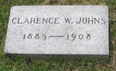 JOHNS, CLARENCE W - Winnebago County, Illinois | CLARENCE W JOHNS - Illinois Gravestone Photos