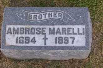 MARELLI, AMBROSE - Winnebago County, Illinois   AMBROSE MARELLI - Illinois Gravestone Photos
