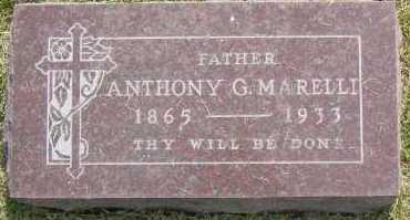 MARELLI, ANTONIO - Winnebago County, Illinois | ANTONIO MARELLI - Illinois Gravestone Photos