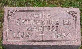 MARELLI, CATHERINE - Winnebago County, Illinois | CATHERINE MARELLI - Illinois Gravestone Photos