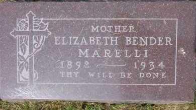 MARELLI, ELIZABETH - Winnebago County, Illinois | ELIZABETH MARELLI - Illinois Gravestone Photos
