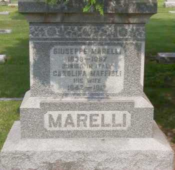 MARELLI, GIUSEPPE - Winnebago County, Illinois | GIUSEPPE MARELLI - Illinois Gravestone Photos