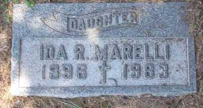 MARELLI, IDA - Winnebago County, Illinois | IDA MARELLI - Illinois Gravestone Photos