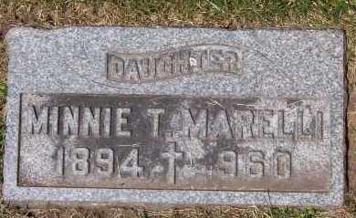 MARELLI, MINNIE - Winnebago County, Illinois | MINNIE MARELLI - Illinois Gravestone Photos