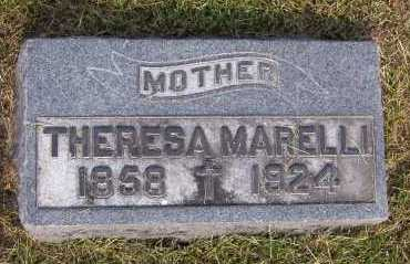MARELLI MARELLI, THERESA - Winnebago County, Illinois | THERESA MARELLI MARELLI - Illinois Gravestone Photos